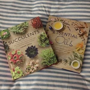 Succulent and Essential Oil guide books